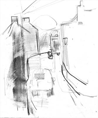 Voyagage of the Dustbin Lorry Drawing 2