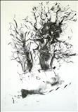 Oak 4 by Jeremy Scrine, Drawing, Charcoal on Paper