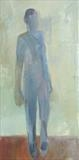 Walking Man by Jeremy Scrine, Painting, Oil on canvas